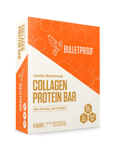 Image: Bulletproof Vanilla Shortbread Collagen Protein Bar