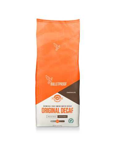 Image: The Original Medium Roast Whole Bean Decaf Coffee - 5 lb