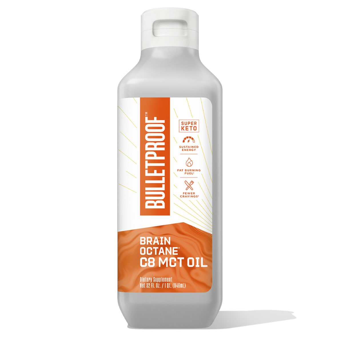 Bulletproof Brain Octane Oil - 32 oz.