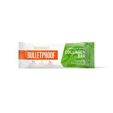 Image: Bulletproof Chocolate Dipped Collagen Bar, Coconut