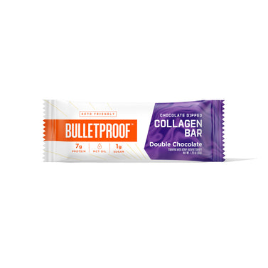 Image: Bulletproof Chocolate Dipped Collagen Bar, Double Chocolate