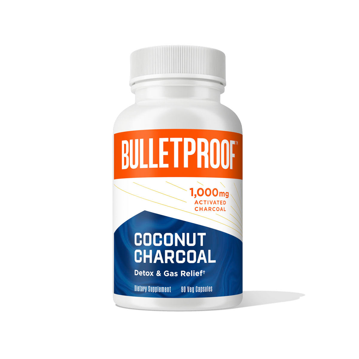 Bulletproof Coconut Charcoal - 90 Ct.