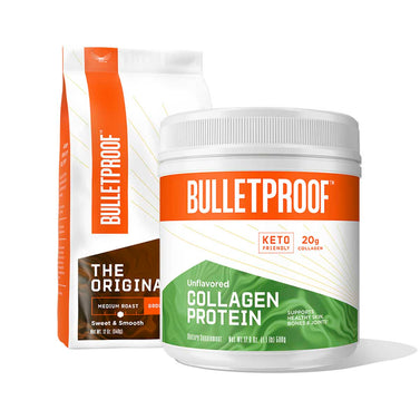 Image: Bulletproof Basics: Ground Coffee 12 oz + Collagen Protein 17.6oz