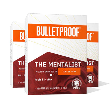 Image: Bulletproof The Mentalist Coffee Pods 24ct - 3 Pack ($26.99/box)