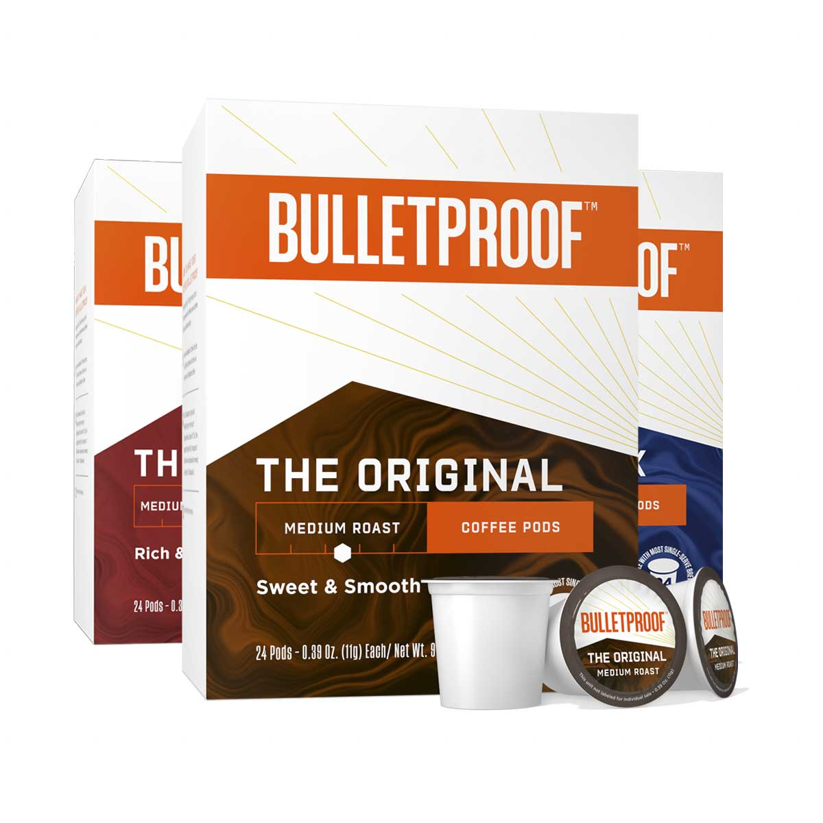 Bulletproof Variety Pack Coffee Pods 24ct - 3 Pack ($26.99/box)