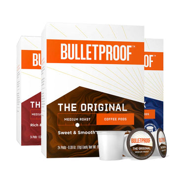 Image: Bulletproof Variety Pack Coffee Pods 24ct - 3 Pack ($26.99/box)