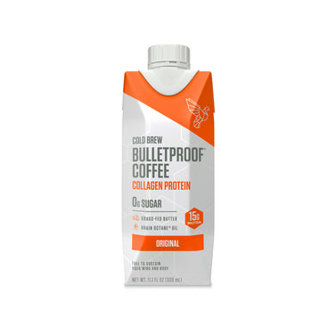 Image: Bulletproof Original Cold Brew Coffee with Collagen Protein - 12ct