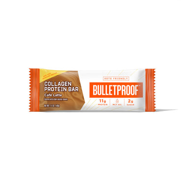 Image: Bulletproof Café Latte Collagen Protein Bar