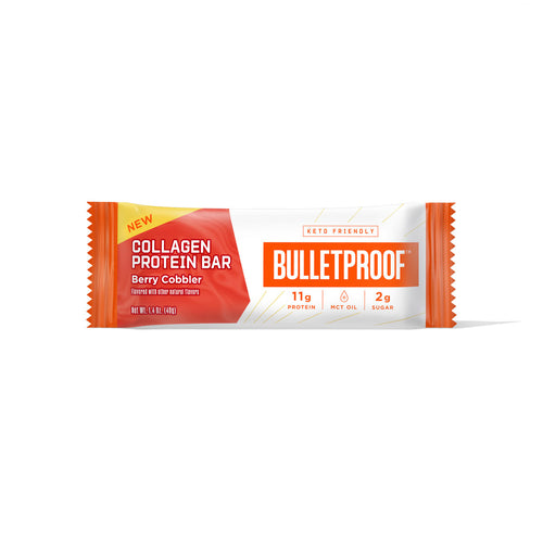 Bulletproof Berry Cobbler Collagen Protein Bar