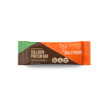 Image: Bulletproof Fudge Brownie Collagen Protein Bar