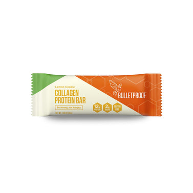 Image: Bulletproof Lemon Cookie Collagen Protein Bar