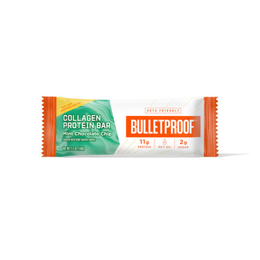 Image: Bulletproof Mint Chocolate Chip Collagen Protein Bar
