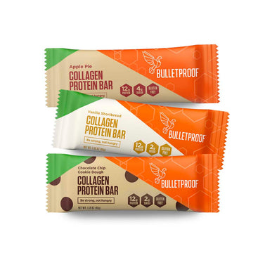 Image: Bulletproof Seasonal Collagen Protein Bars Bundle (3 boxes of 12 bars)