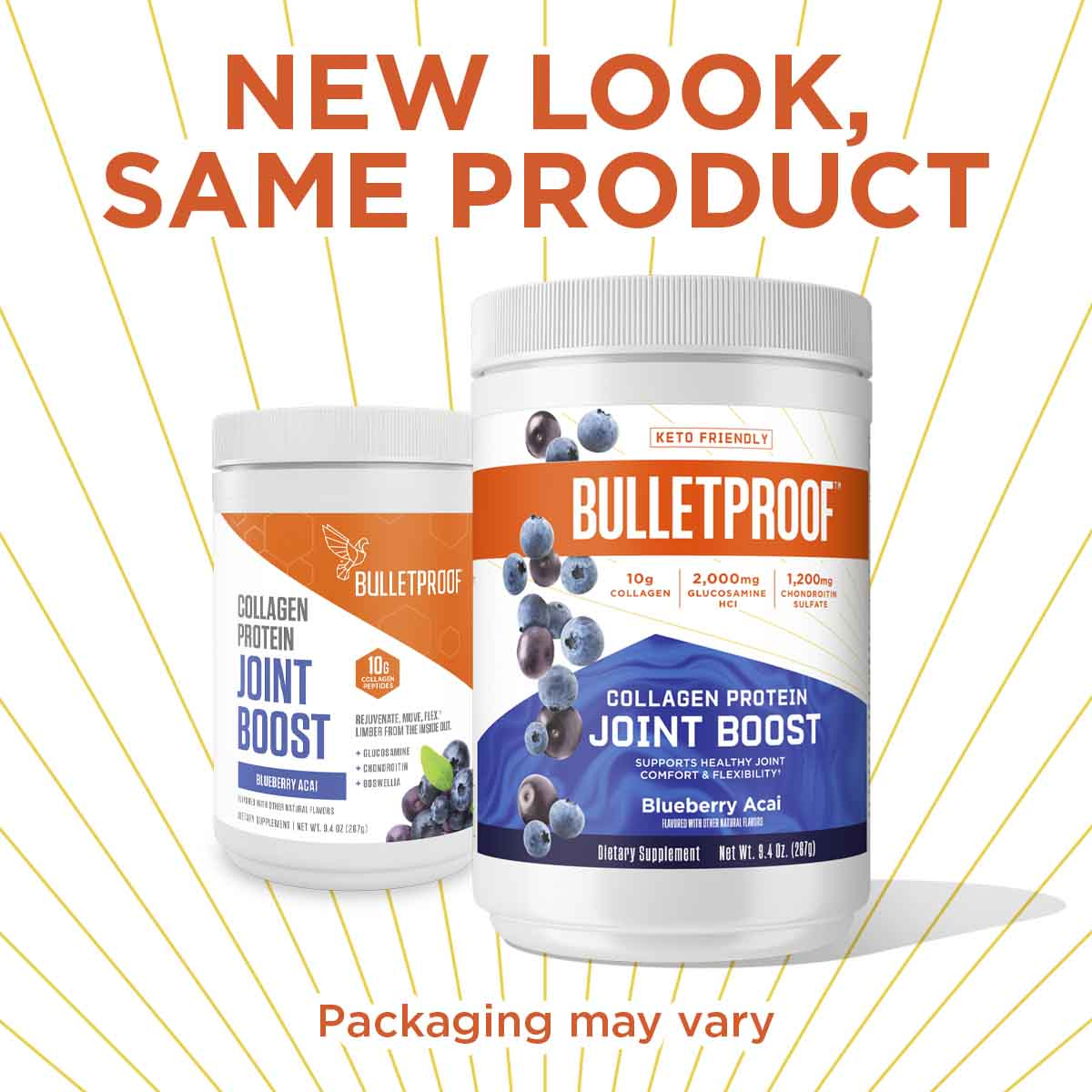 New Look, Same Product Bulletproof Collagen Protein Joint Boost - 9.4 oz