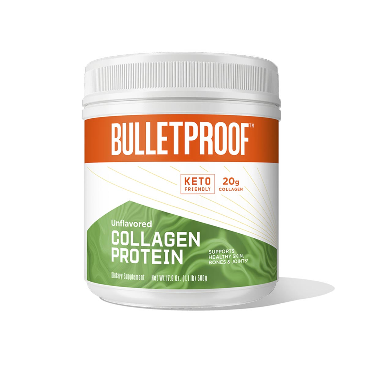 Bulletproof Unflavored Collagen Protein - 17.6 oz