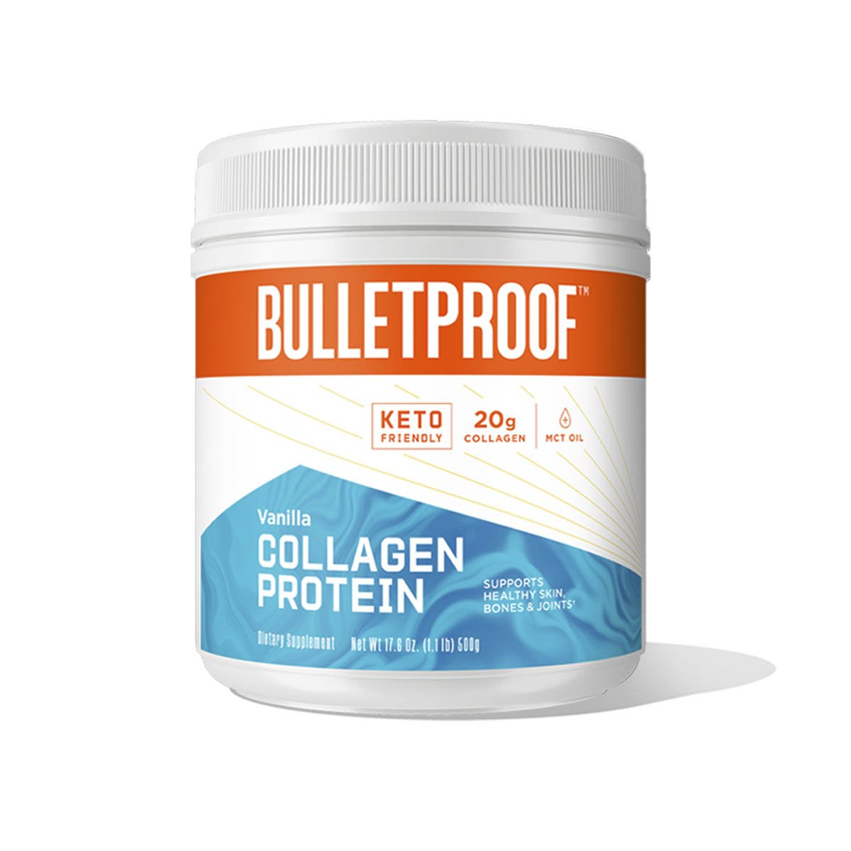 Bulletproof Vanilla Flavored Collagen Protein