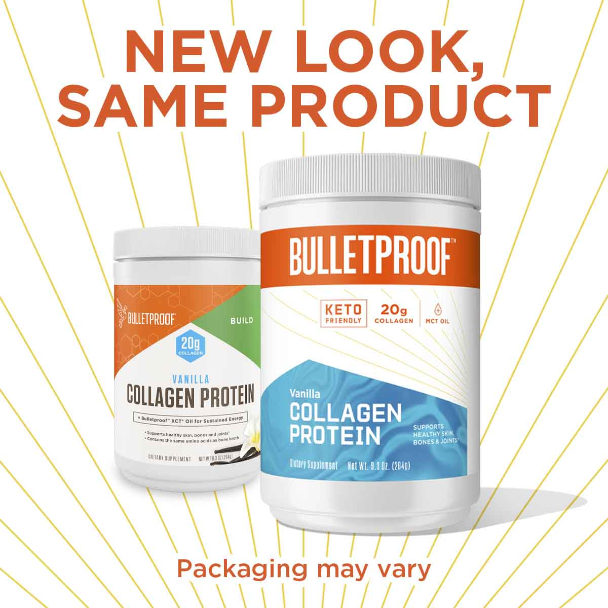 New Look, Same Product Bulletproof Vanilla Flavored Collagen Protein - 9.3oz