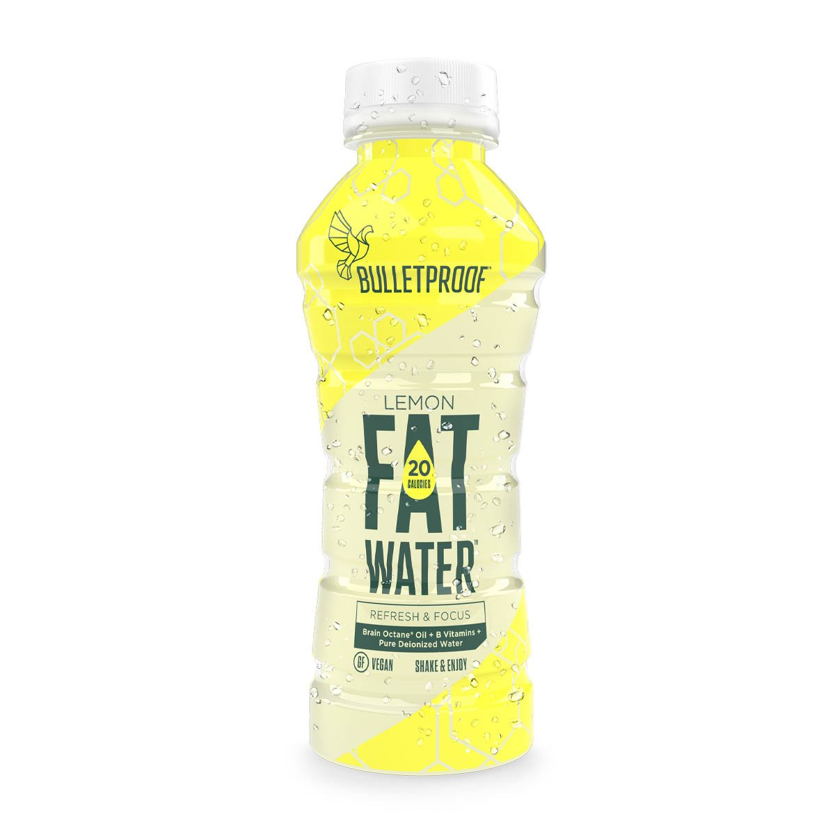 Bulletproof FATwater Lemon 12ct Case