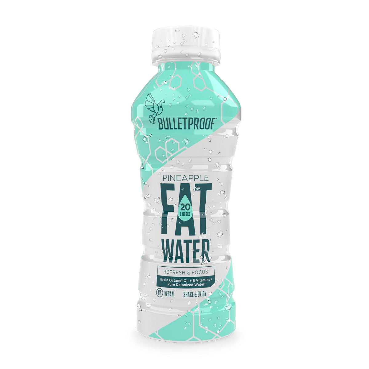 Bulletproof FATwater Pineapple 12ct Case