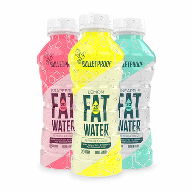 Image: Bulletproof FATwater Variety 12ct Case