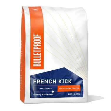 Image: Bulletproof French Kick Dark Roast Whole Bean Coffee - 5 lb