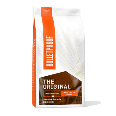 Image: Bulletproof The Original Medium Roast Whole Bean Coffee - 12 oz