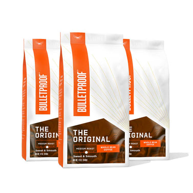 Image: Bulletproof The Original Medium Roast Whole Bean Coffee - 3 Pack
