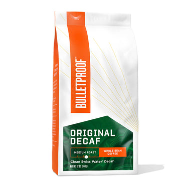 Image: Bulletproof The Original Medium Roast Whole Bean Decaf Coffee - 12 oz
