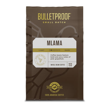 Image: Bulletproof Small Batch Mlama, Tanzania 12 oz Whole Bean