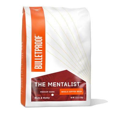 Image: Bulletproof The Mentalist Medium Dark Roast Whole Bean Coffee - 5 lb