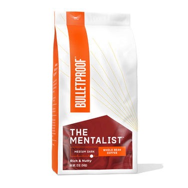 Image: Bulletproof The Mentalist Medium Dark Roast Whole Bean Coffee - 12 oz