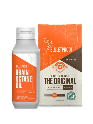 Image: Starter Set - Brain Octane Oil & Ground Coffee