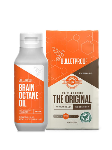Image: Starter Set - Brain Octane Oil & Whole Bean Coffee