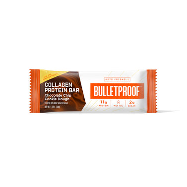 Image: Bulletproof Chocolate Chip Cookie Dough Collagen Protein Bar