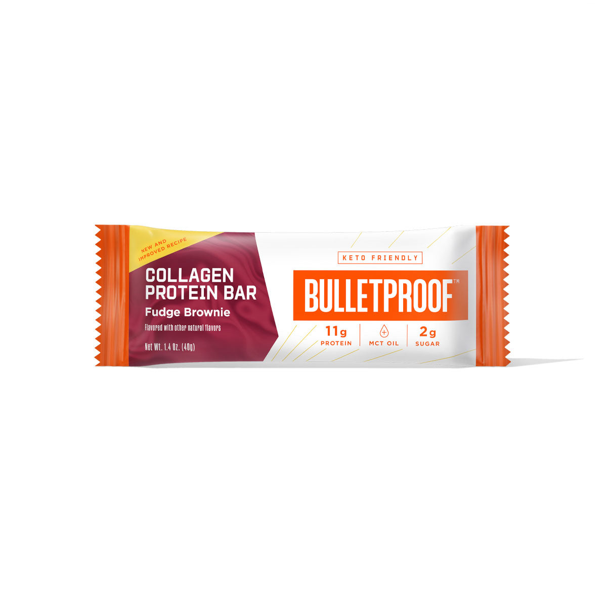 Bulletproof Fudge Brownie Collagen Protein Bar