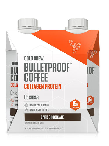 Image: Dark Chocolate Cold Brew with Collagen Protein - 4ct