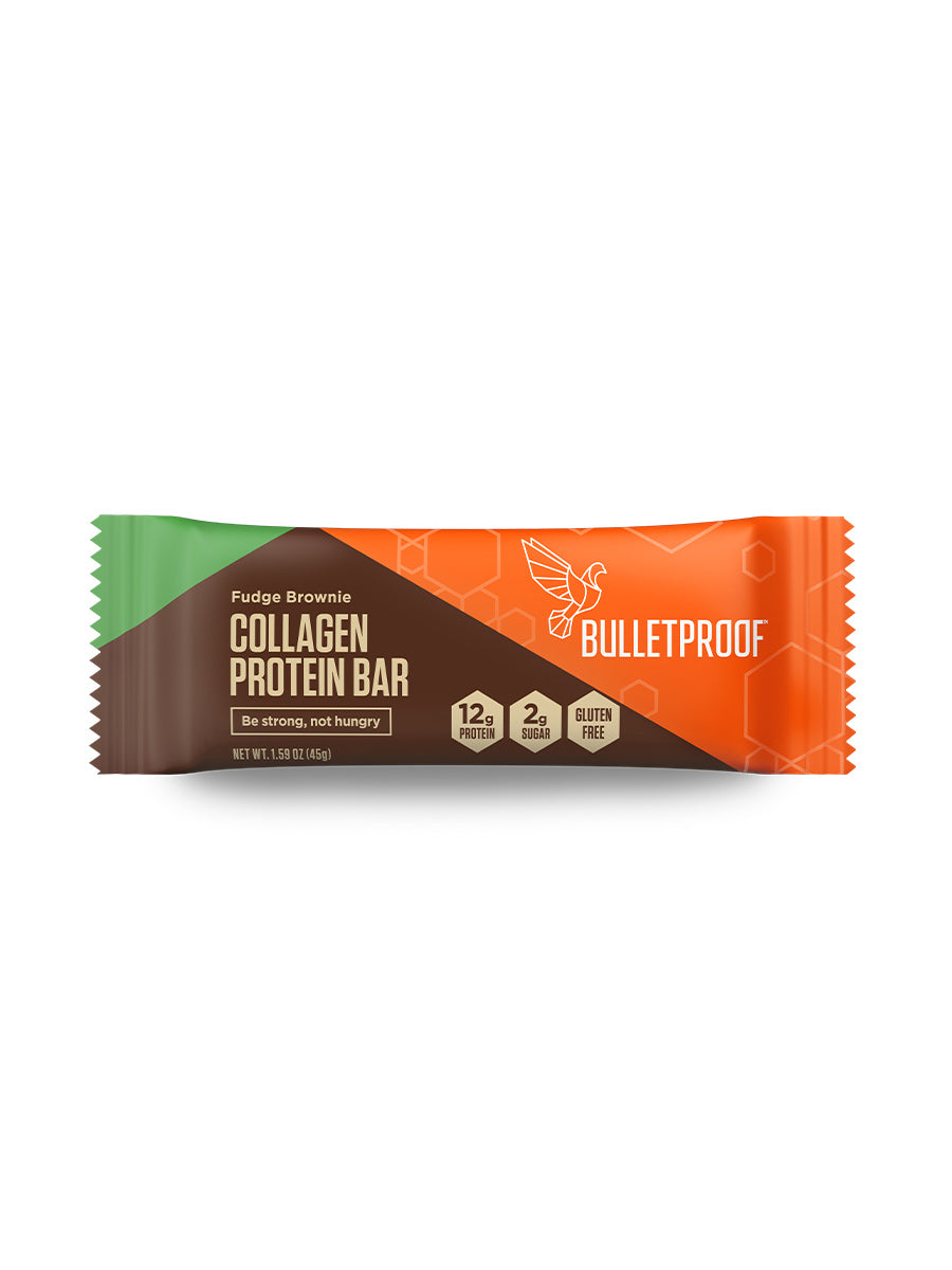 Fudge Brownie Collagen Protein Bar (4 Pack)