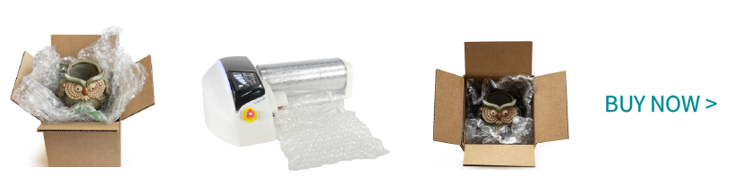 buy air pillow packaging machine -bubblewrap nano inflator