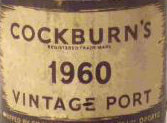 Cockburns 1960 - 75cl bt (bin soiled)