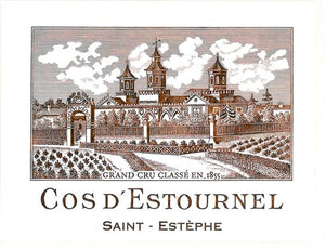 Cos d'Estournel 1999 - case of 6