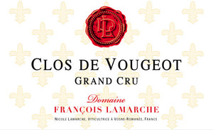 Francois Lamarche Clos de Vougeot Grand Cru 2016 - 75cl bt (in bond)