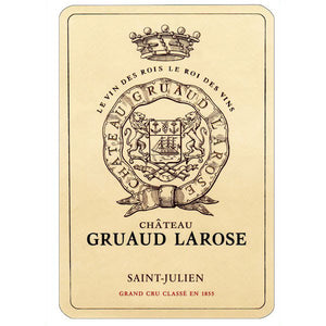 Gruaud Larose 1982 - 75 cl bt (corroded capsules)