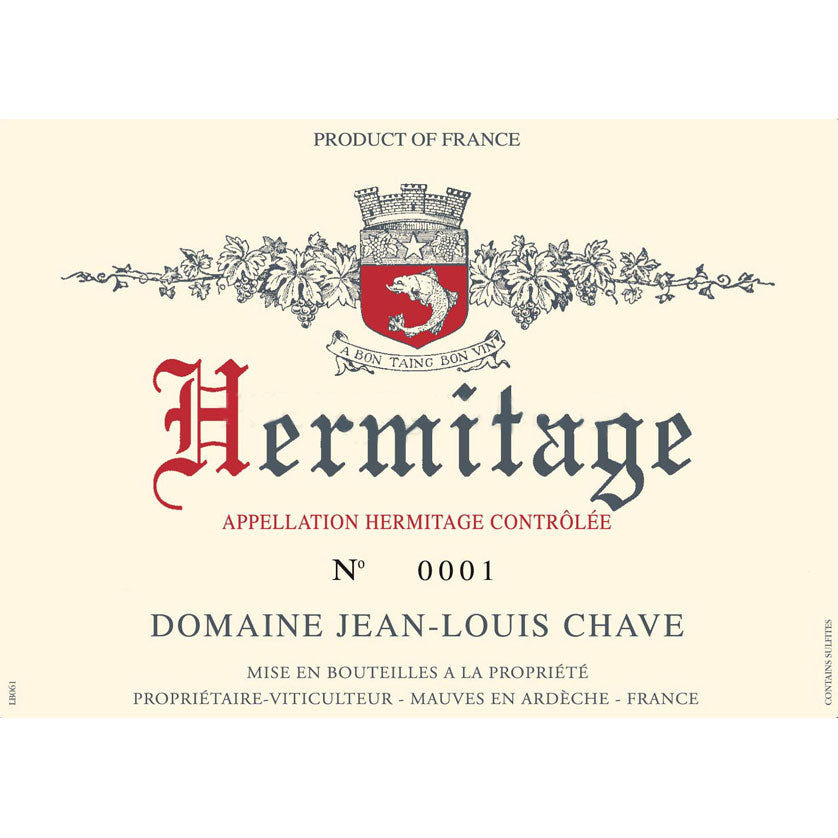 Chave Jean Louis Hermitage Blanc 2012 - case of 6