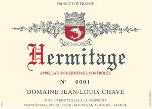 Chave J L Hermitage Rouge 2012 - 75cl bt