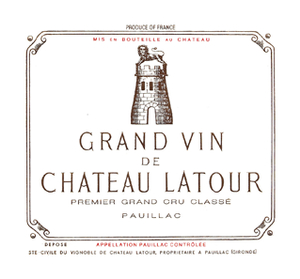 Latour 1998 - 75cl bt (export seal)