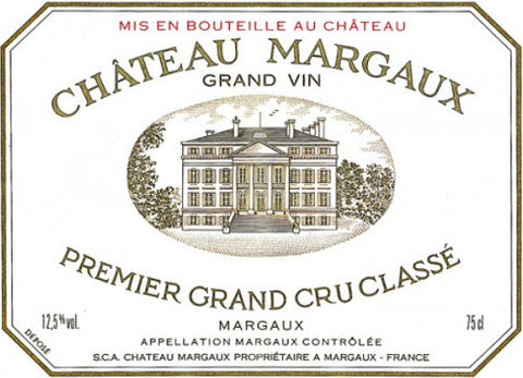 Margaux 1983 - 75cl bt (slight nicked labels)