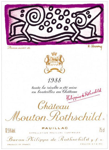 Mouton Rothschild 1988 - 75cl bt