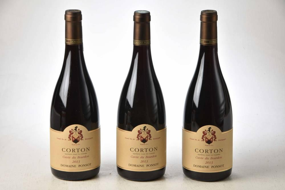 Ponsot Dom. Corton Cuvee Bourdon 2013 - 75cl bt (in bond)
