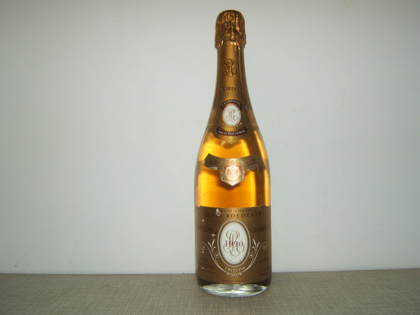 Louis Roederer Cristal 1990 - 75cl bt (nicked labels)