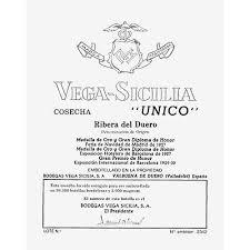 Vega Sicilia Unico 1973 - 75cl bt